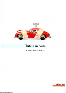 Winterthur - Tutela In Auto - Modello ae123n01 Edizione 02-1998 [SCAN] [13P]