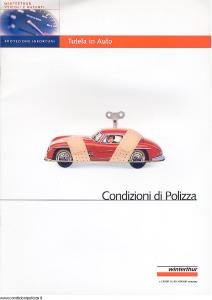 Winterthur - Tutela In Auto - Modello ae123n01 Edizione 12-2002 [SCAN] [15P]