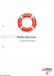 Winterthur - Tutela Infortuni - Modello ae100n01 Edizione 06-1997 [SCAN] [13P]